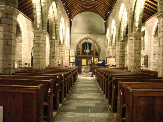 New LED lights in St Petroc's
